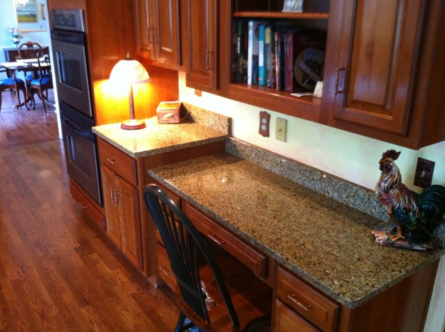 Granite can change everything! contemporary-kitchen