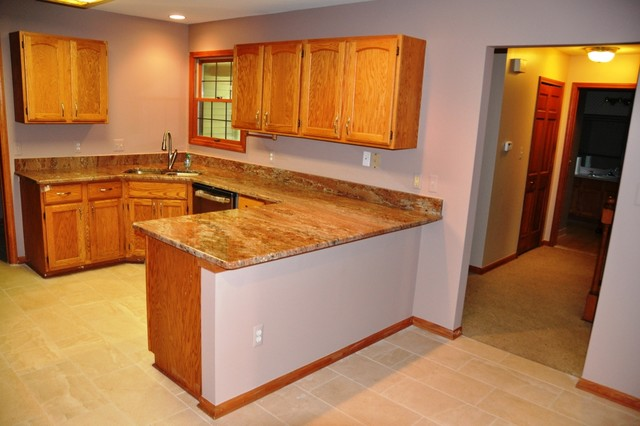 Granite Counter Tops traditional-kitchen