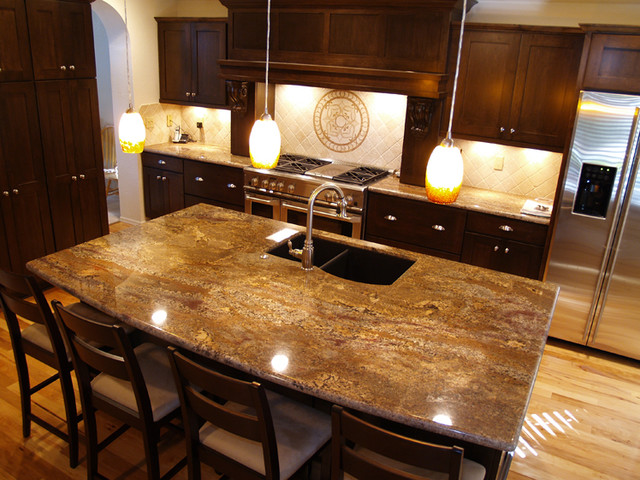 Granite Counter tops contemporary-kitchen