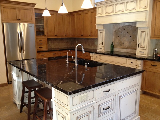 Granite Countertop Traditional Kitchen Phoenix By