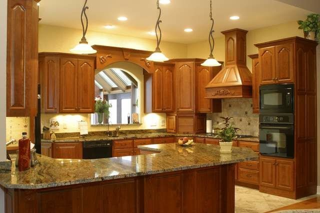 Granite Countertops and Tile Backsplash Ideas - Eclectic ... on Backsplash Ideas For Granite Countertops  id=20676