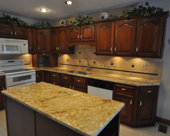 this is an example of an eclectic kitchen in indianapolis houzz