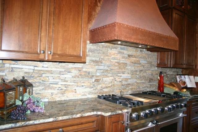 Granite Countertops and Tile Backsplash Ideas - Eclectic - Kitchen - indianapolis - by Supreme ...