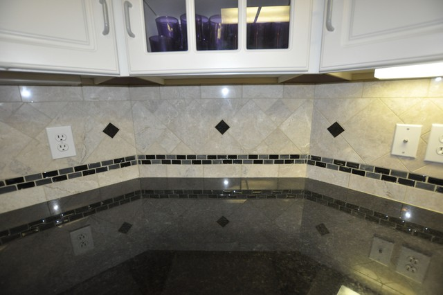 how to turn a tile countertop into a granite one