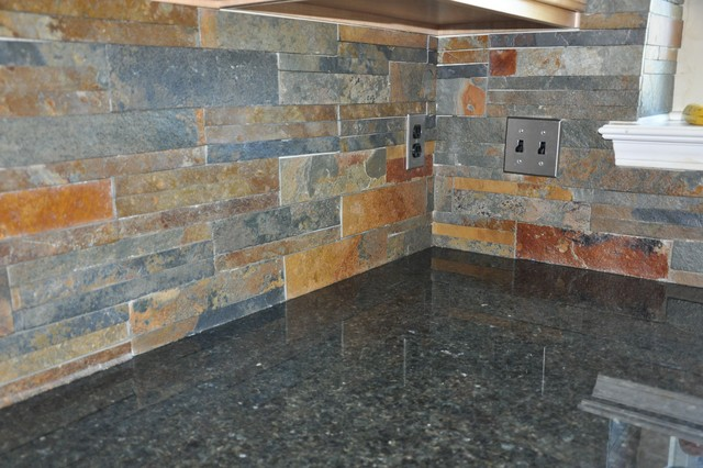 Granite Countertops and Tile Backsplash Ideas eclectic-kitchen - Granite Countertops And Tile Backsplash Ideas - Eclectic - Kitchen
