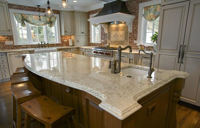 Granite Countertops Traditional Kitchen Boston