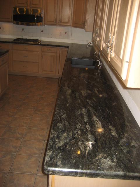 Countertop Dishwasher New Zealand : Granite Countertops traditional-kitchen