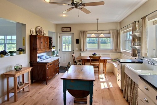 what is the antique work table in the middle of the room called  thx  rh   houzz com
