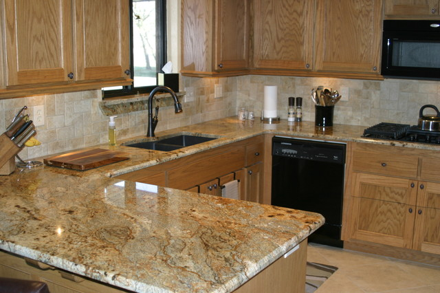 Granite Installations Traditional Kitchen Oklahoma