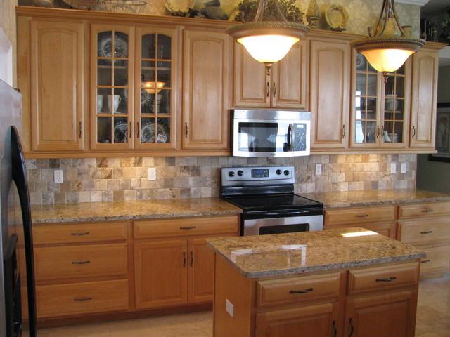 granite kitchen kolonialstil k che tampa von. Black Bedroom Furniture Sets. Home Design Ideas