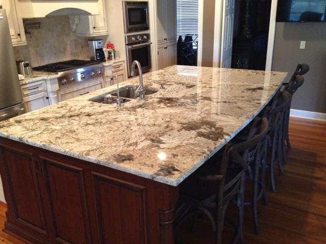 Granite Kitchens - Traditional - Kitchen - other metro - by Triton Stone
