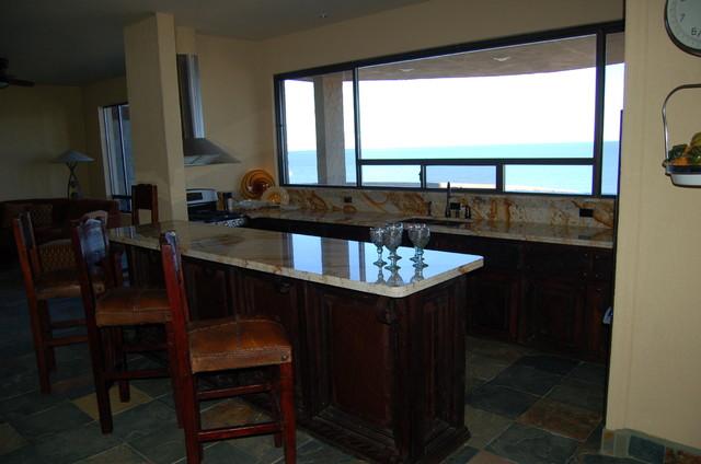Granite litchen contemporary-kitchen