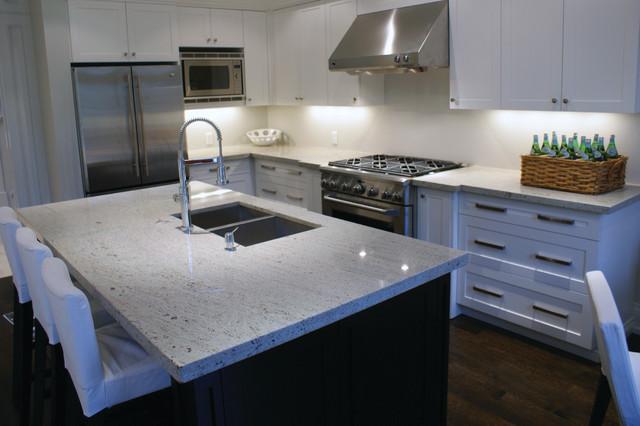 Granite Quartzite Marble Quartz Countertops Contemporary Kitchen Toronto By