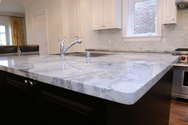 Granite Quartzite Marble Quartz Countertops - Traditional - Kitchen - toronto - by ...