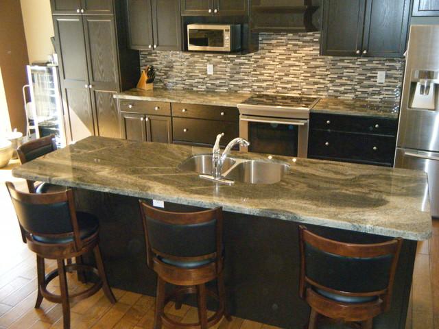 Granite Quartzite Marble Quartz Countertops Contemporary Kitchen