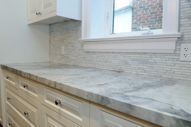 Granite Quartzite Marble Quartz Countertops - Traditional - Kitchen ...