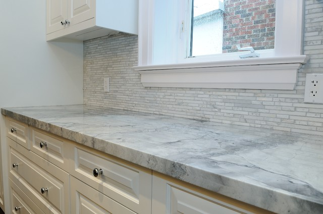 Granite Quartzite Marble Quartz Countertops Traditional Kitchen