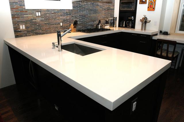 Charming Granite Quartzite Marble Quartz Countertops Contemporary Kitchen