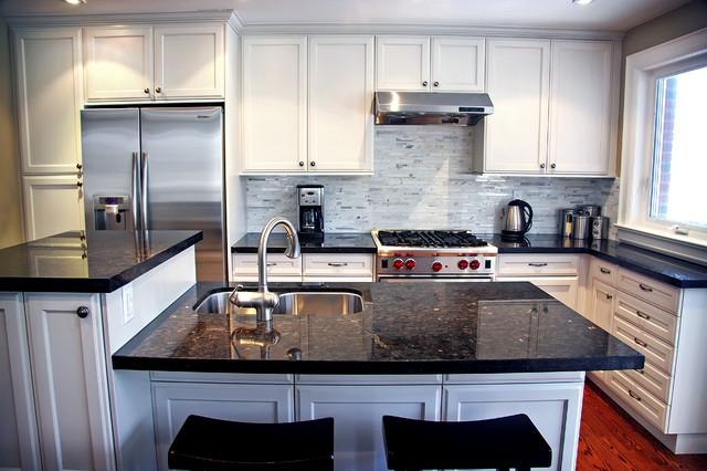 Granite Quartzite Marble Quartz Countertops - Traditional ...