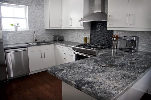 Quartz Stone For Kitchen Countertops : Granite Quartzite Marble Quartz Countertops - Contemporary - Kitchen ...