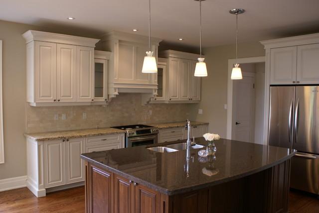 Granite Quartzite Marble Quartz Countertops Traditional Kitchen