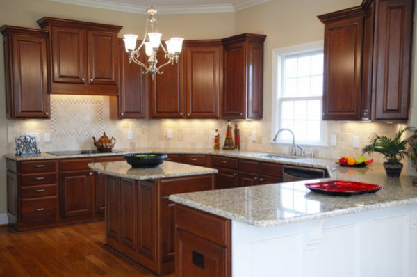 Granite refinishing traditional-kitchen