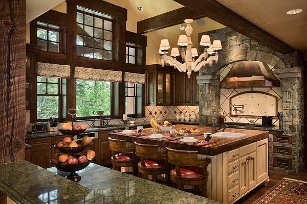 Granite Ridge Residence traditional-kitchen