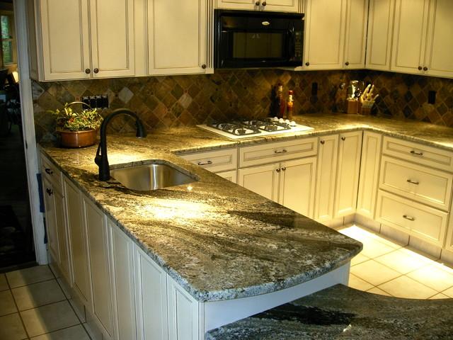 Granite - Traditional - Kitchen - Philadelphia - by Stone Masters Inc.