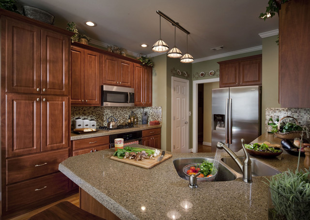 Granite Transformationsst Louis Traditional Kitchen