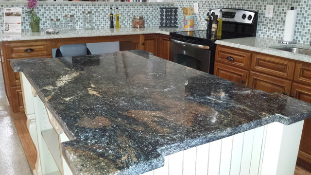 Granite Works Showroom - Traditional - Kitchen - Other - by Granite ...