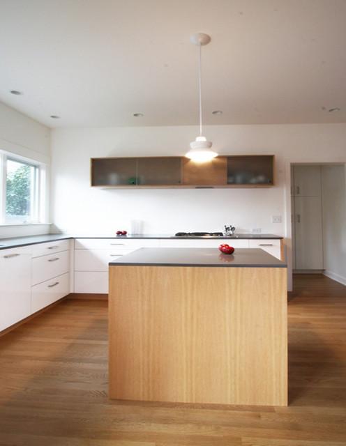 Grant Park Foursquare Modern Kitchen Portland By