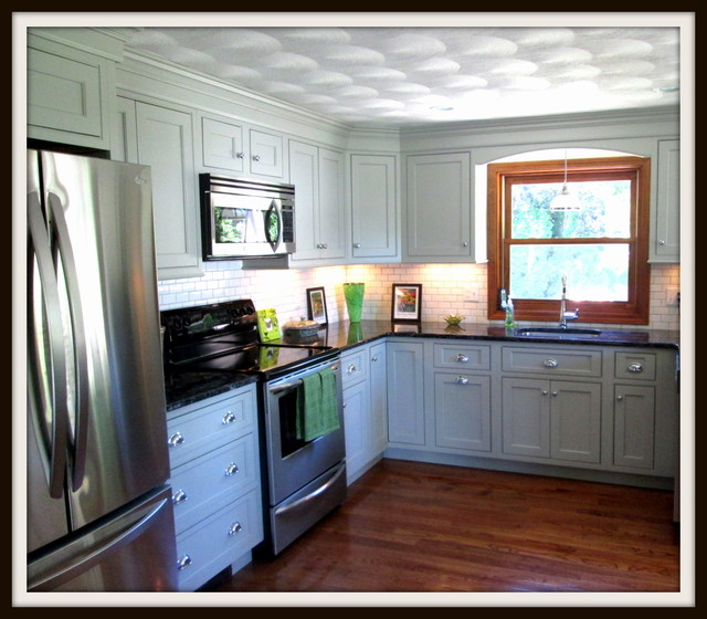 Gray is the new white for Kitchen design 14x14