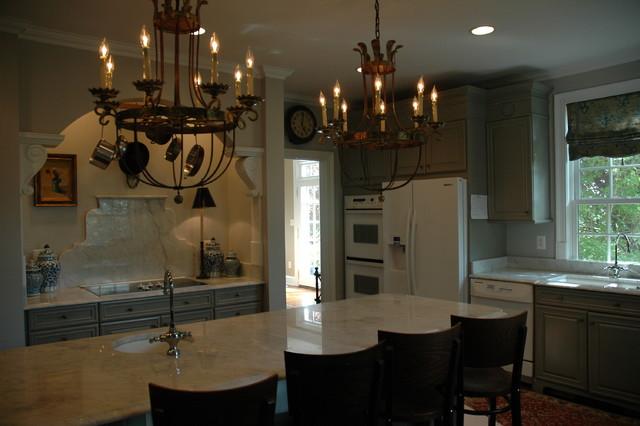 Gray Kitchen traditional-kitchen