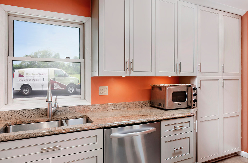 Gray Kitchen With Cabinet Optimizers In, Kitchen Cabinets In Baltimore Maryland