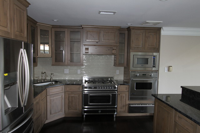 Gray Knotty Alder Cabinets Kitchen Eclectic Kitchen Dc Metro By Art And Cement Construction Llc Houzz Au