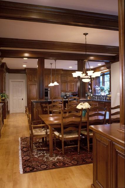 Great Falls, Va Estate traditional-kitchen