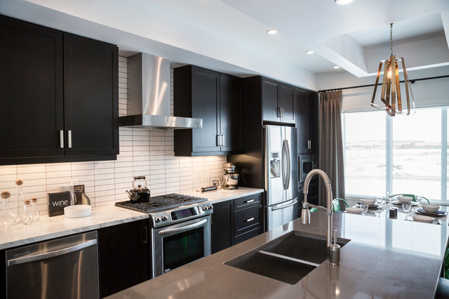 Great Gatsby Style Transitional Kitchen Calgary By