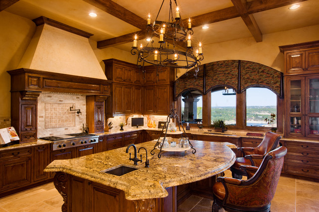 Great kitchens mediterranean kitchen austin by for Custom mediterranean homes