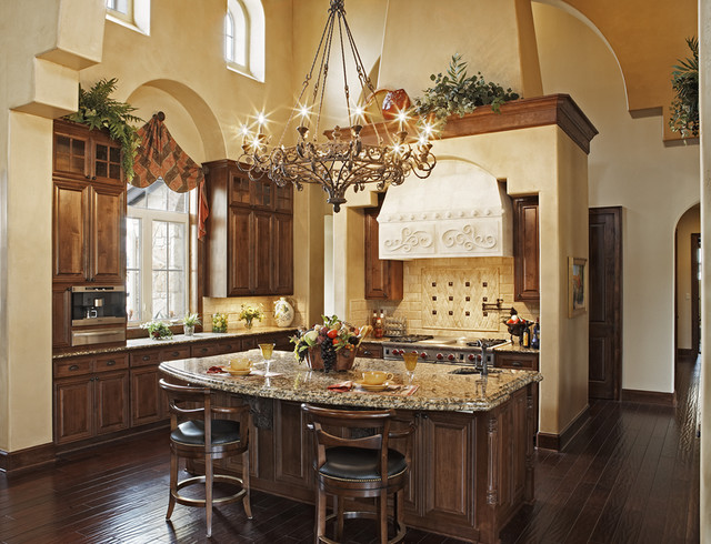 Great Kitchens - Mediterranean - Kitchen - austin - by Jenkins Custom ...