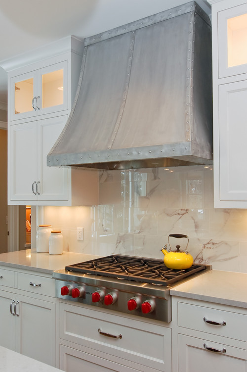transitional kitchen Beauty Meets Function: Range Hoods