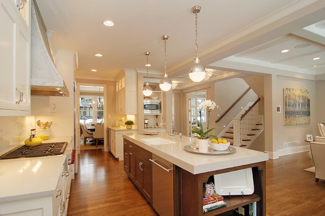Great Neighborhood Homes transitional-kitchen