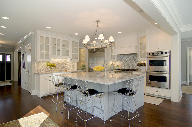 Great Neighborhood Homes contemporary-kitchen