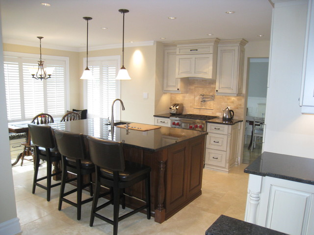 Great new kitchen for a busy family traditional-kitchen
