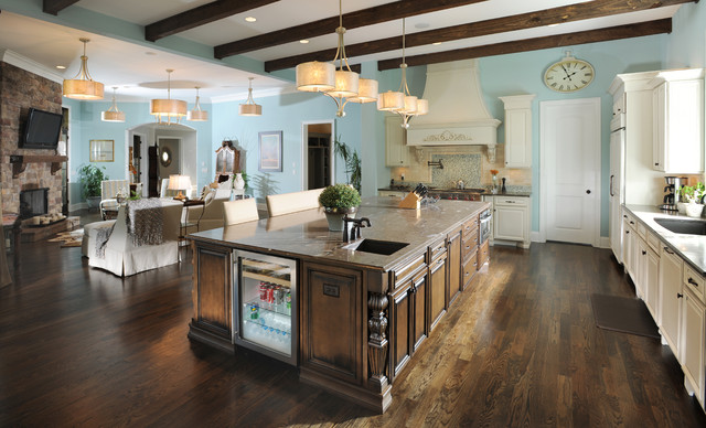 Great Room American Traditional Kitchen Nashville Houzz
