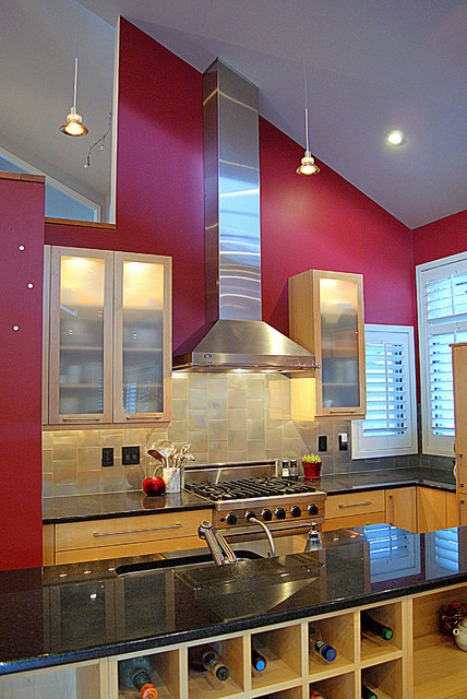 GREAT ROOM KITCHEN - Contemporary - Kitchen - denver - by Gracedesign ...