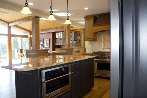 GREAT Room traditional kitchen
