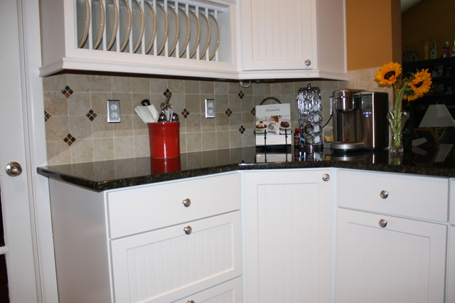 Great White Cabinets traditional-kitchen