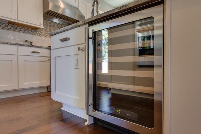 9. Wine fridge. The Brisbane Home Design traditional-kitchen