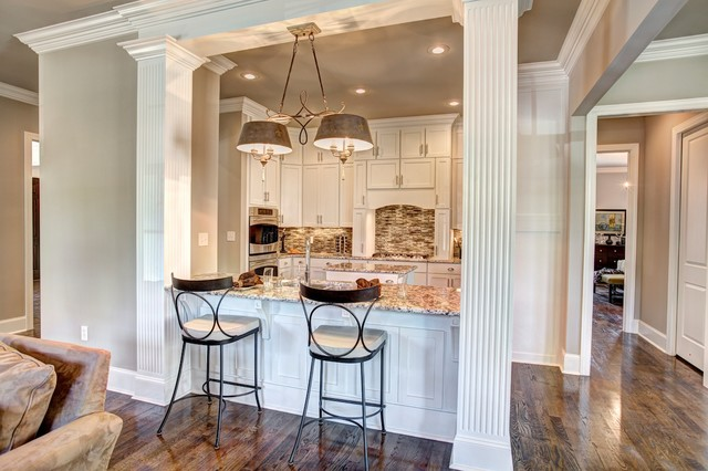 Greek Revival Southern Manor The Longfellow Ii Traditional Kitchen Other Metro By