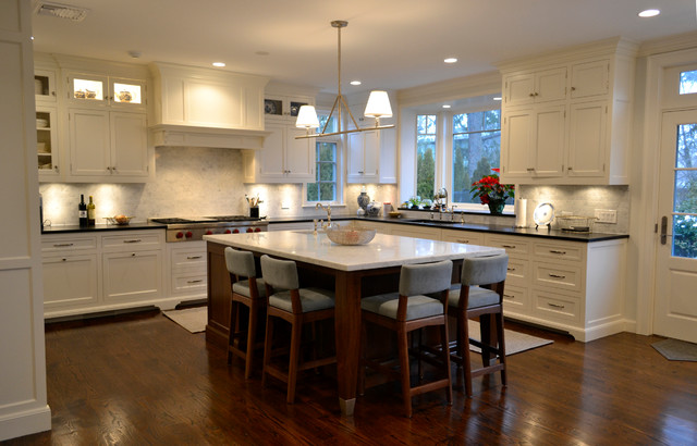 Green Avenue traditional-kitchen